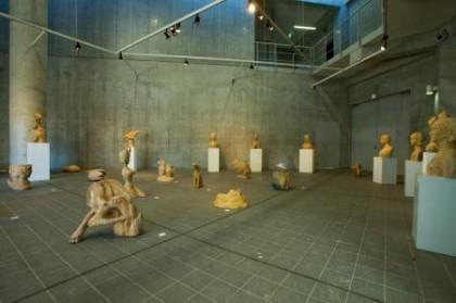 一学年木彫実習報告展