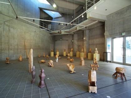 平成23年度 彫刻学科1年  木彫実習報告展