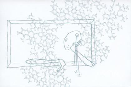 上野晃世・寺田衣里 二人展 『遥かなる崖』