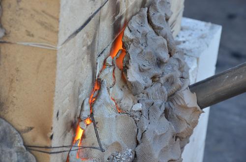 たたら 赤い耐火煉瓦