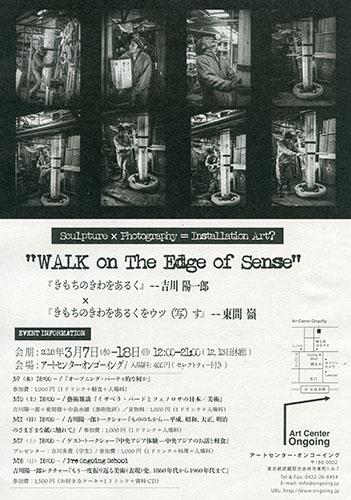 """WALK On The Edge of Sense"""