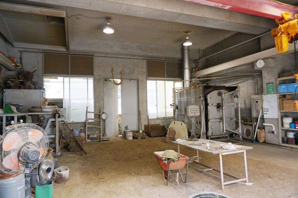 鋳造棟・塗装室